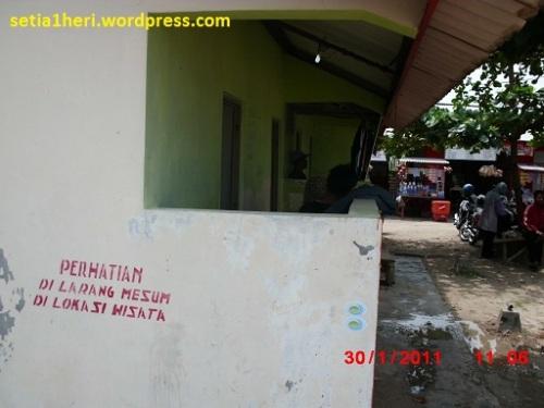toilet di lokasi WPP delegan gresik