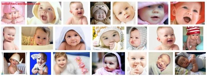 bayi-bayi lucu