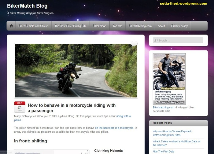 bikermatch blog
