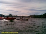 speed boat sarangan