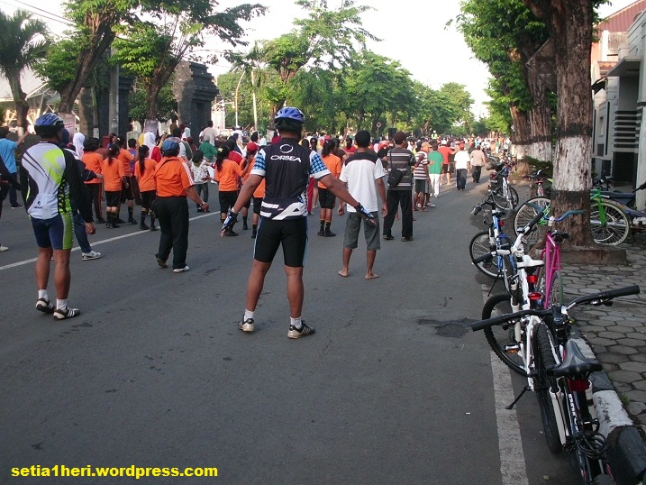 car free day di gresik