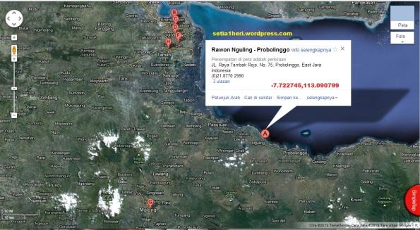 peta rawon nguling probolinggo