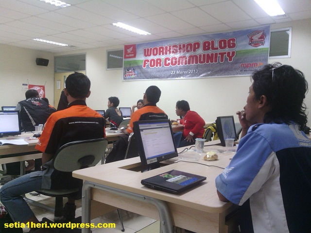 workshop blog komunitas honda