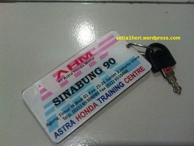 kunci Sinabung AHTC
