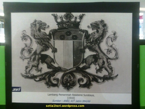 lambang kota surabaya jadul
