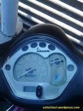 speedometer lx 150 ie