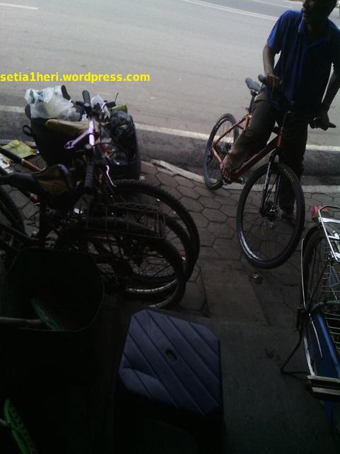 tesride habis service sepeda