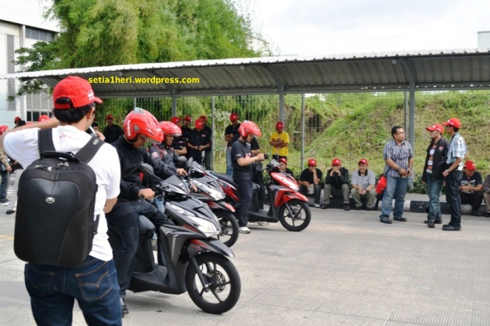 test ride vario terbaru