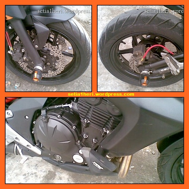 engine guard kawasaki ER-6N