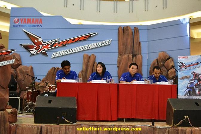 Launching X-Ride di Royal Plaza