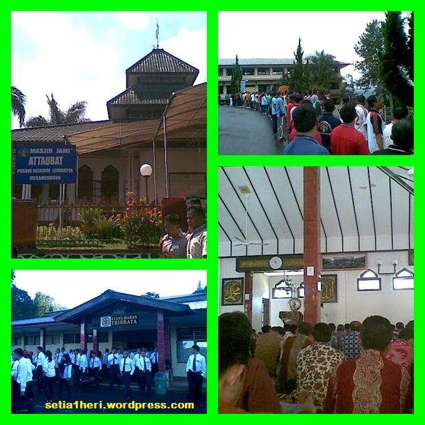 masjid attaubah pusdik reskrim megamendung
