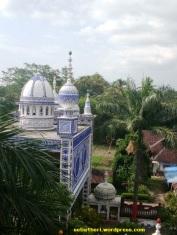 masjid tiban dari atas