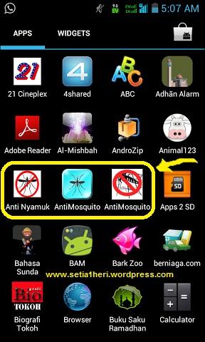 aplikasi pengusir nyamuk di android