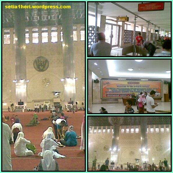 interior masjid istiqlal
