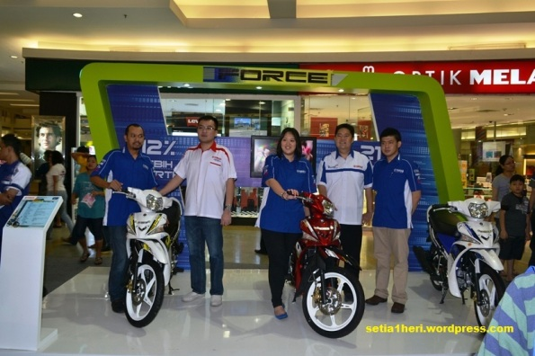 luanching yamaha force surabaya