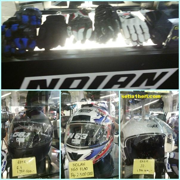 helm Nolan dan Grex
