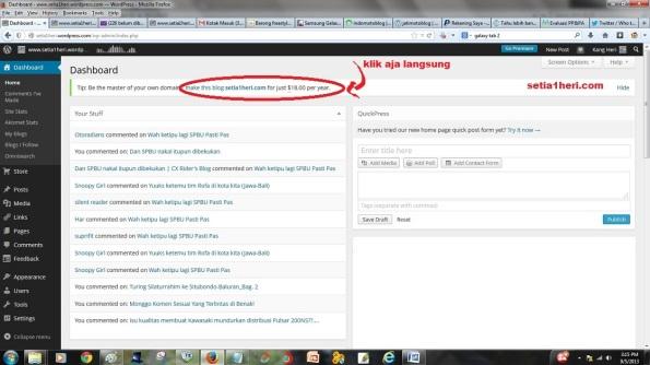 make this blog blablabla.com