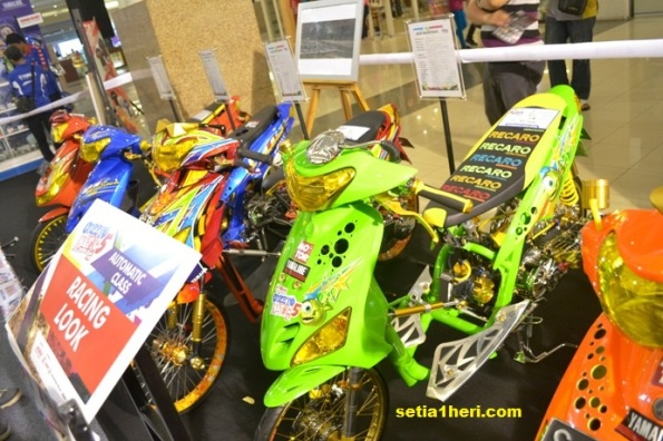 racing look matic yamaha