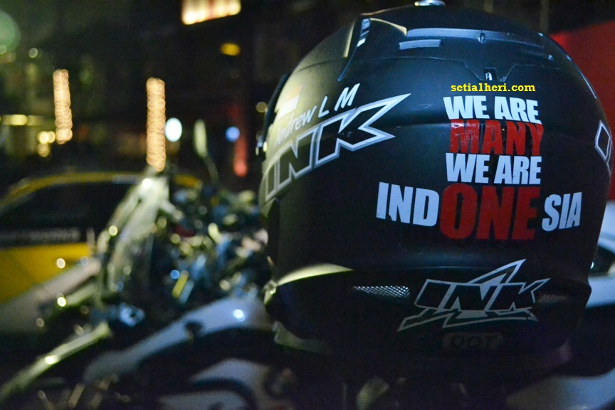 We are many, we are indONEsia helm