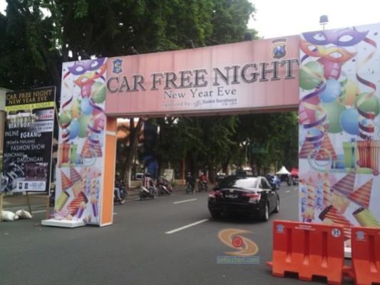 car free night di surabaya
