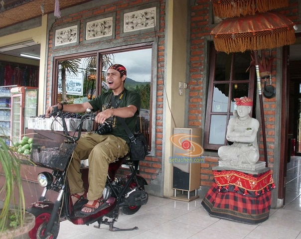 kymco di RM Saras Bali