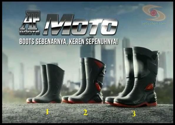 ap boot moto 1-2-3