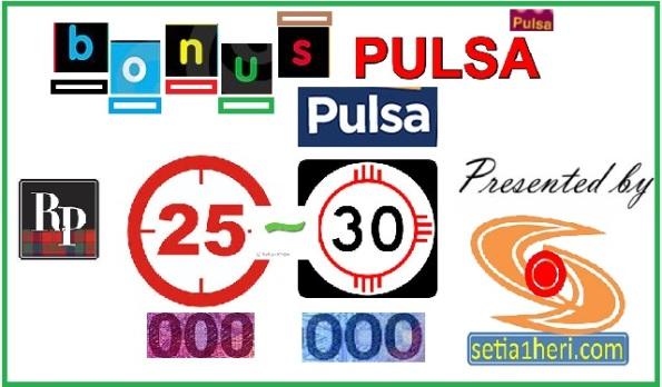 bonus pulsar 25 ribu