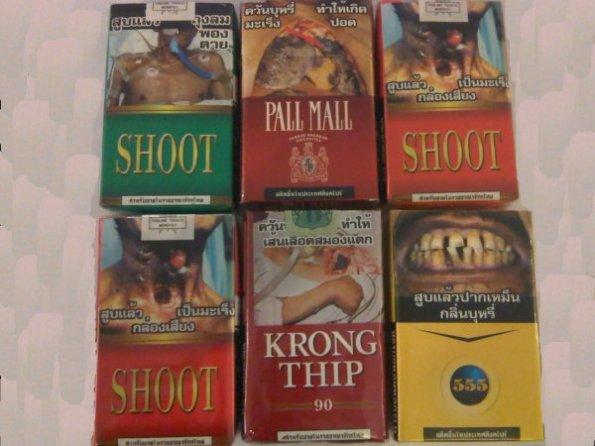 bungkus rokok di thailand