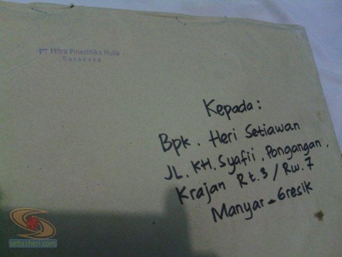 kiriman paket dari mpm motor