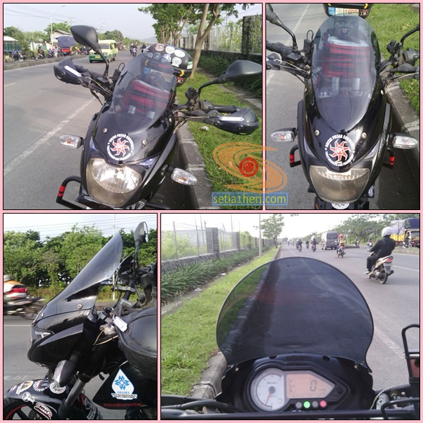 windshield adventure pulsar 180 ug 4
