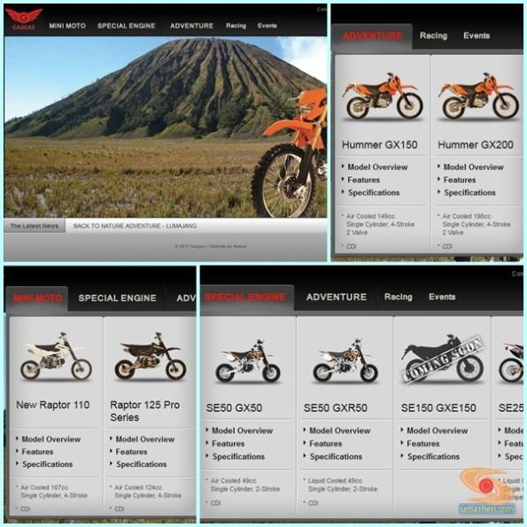 gazgas motor indonesia