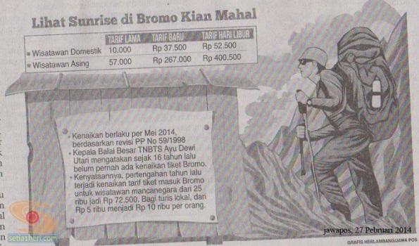 tarif sunrise di gunung bromo 2014 copy