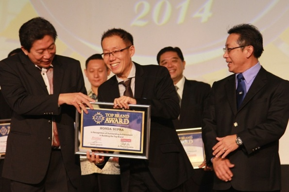 top brand award honda supra