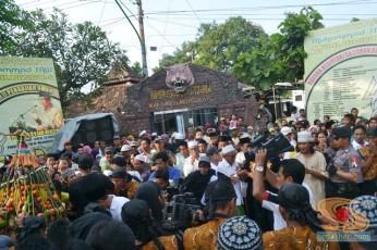 Haul Mbah Syafii Pongangan Manyar Gresik tahun 2014 (30)