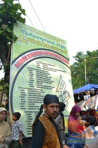 Haul Mbah Syafii Pongangan Manyar Gresik tahun 2014 (55)