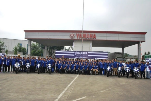 Launching Yamaha Racing Team Indonesia 2014--
