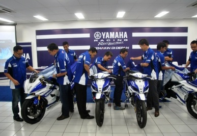 Launching Yamaha Racing Team Indonesia 2014
