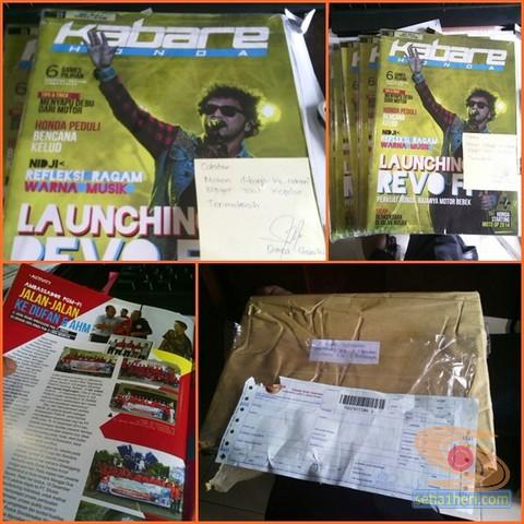 majalah kabare honda dari pt mpm distributor jawa timur