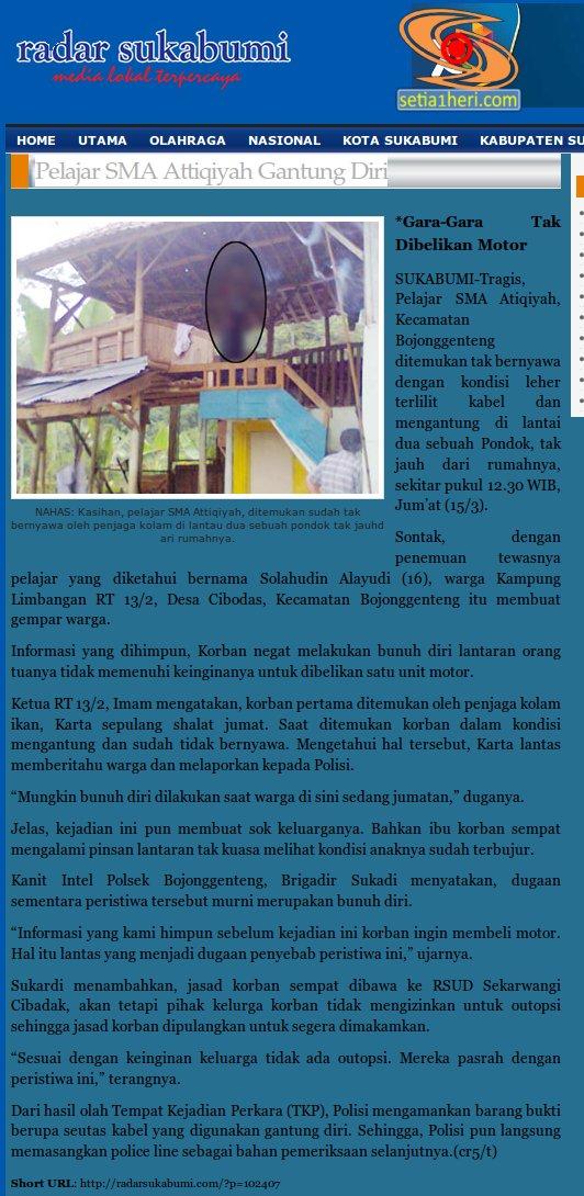 Pelajar SMA Attiqiyah Gantung Diri | www.radarsukabumi.com 2014-03-15 16-49-19