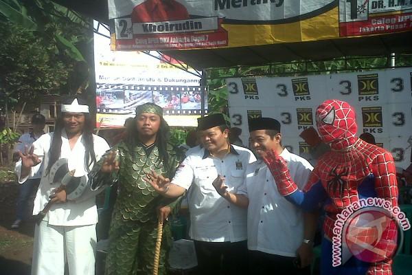wiro sableng ikut kampanye PKS