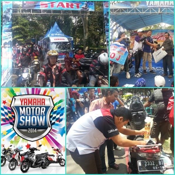 Yamaha motor show jawa timur malang