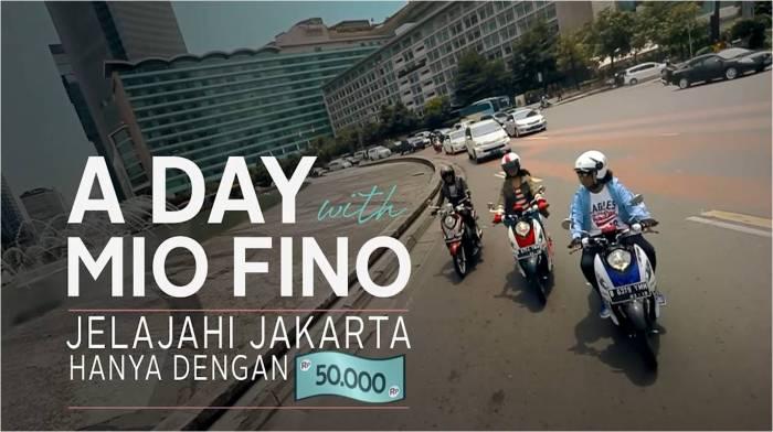 A Day With Mio Fino Jelajahi Jakarta dengan Rp 50000 (2)