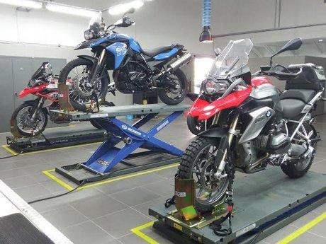 bmw motorrad in bali indonesia