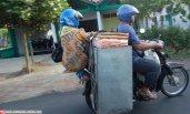 motor dan boncengan yang gak safety 3