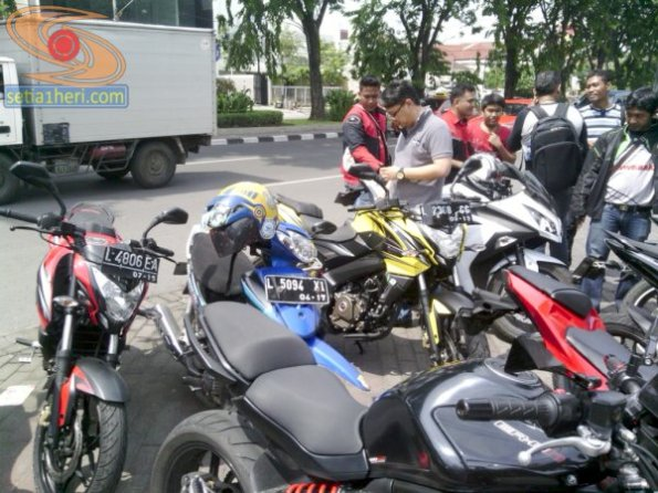 pulsar 200 ns launching di surabaya
