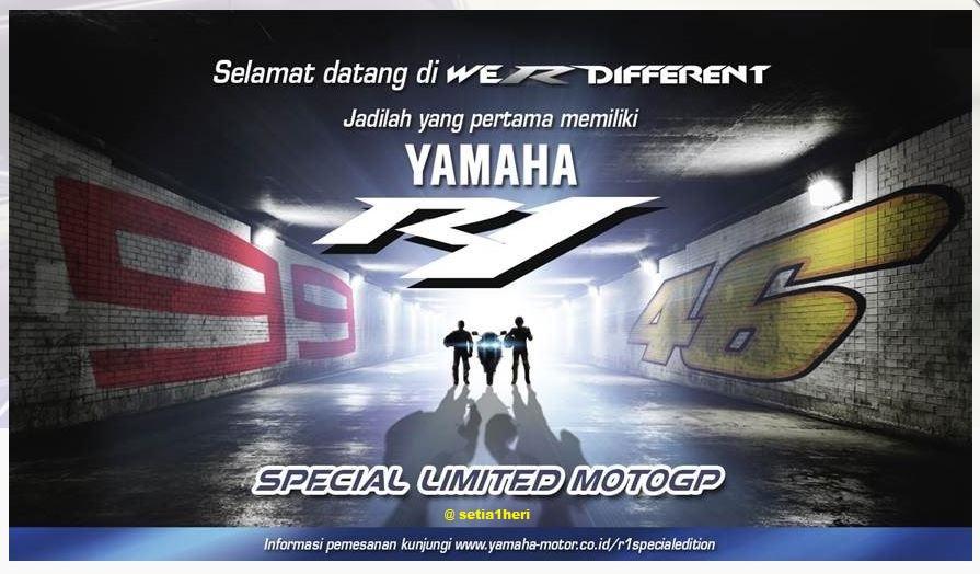 werdifferent yamaha r1 moto gp