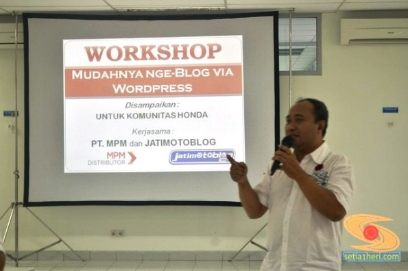 workshop ngeblog honda communty bersama jatimotoblog (4)