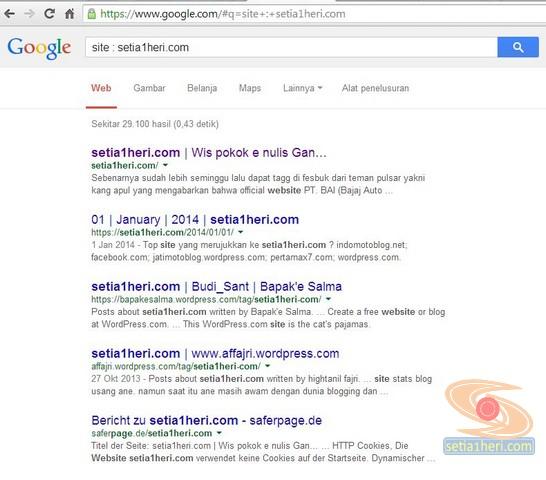 cara mengetahui blog kena google sandbox
