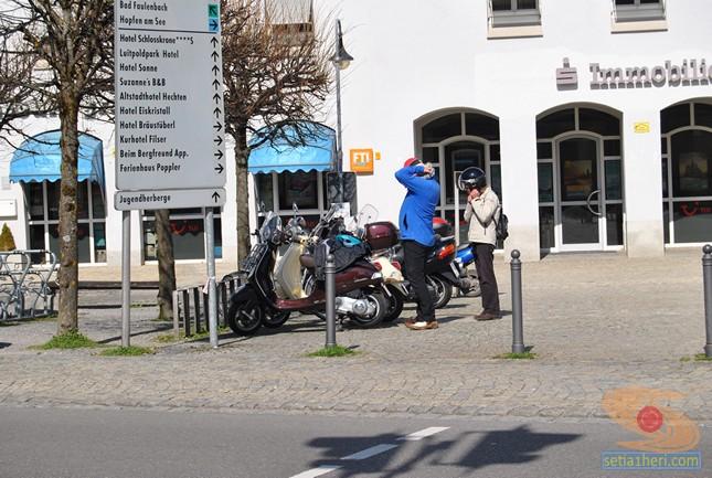 Jepretan motor di Füssen jerman