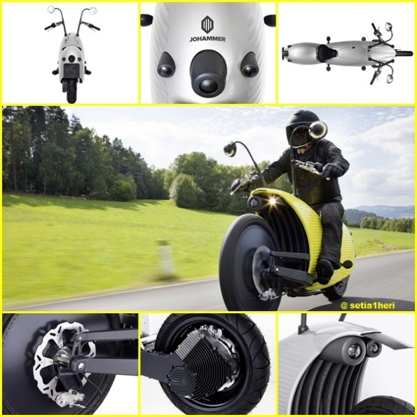 johammer electric motorcycle austria